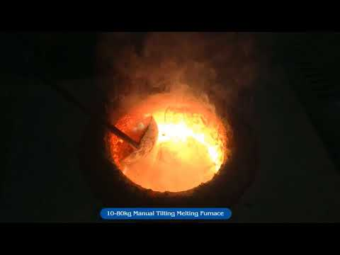 How to melt metals: IGBT induction melting furnace for foundry