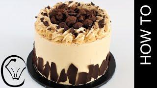 Peanut Butter Chocolate Cake Chocolate Truffle Condensed Milk Buttercream