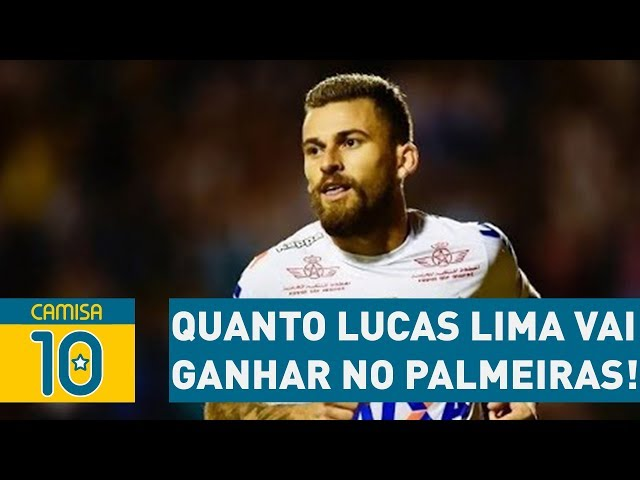 SAIBA quanto LUCAS LIMA vai ganhar no PALMEIRAS!