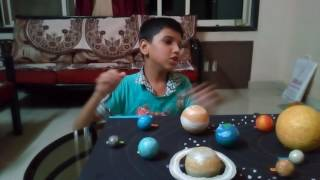 Solar system School Project