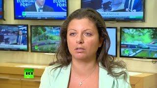 Маргарита Симоньян: Мы стараемся не верить в теорию заговора