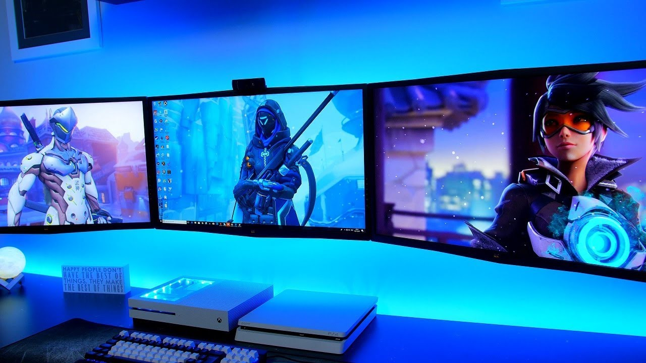 How To Complete The Ultimate Gaming Setup 2018 Wallpaper