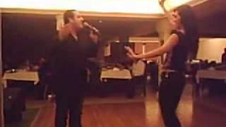 Romeo Bou Antoun song( melhem barakat  ) &( Belly Dancer Veronika ) ala babi waef amarain