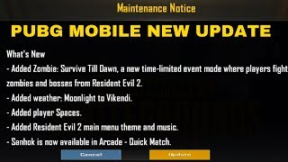 Pubg Mobile New Update Is Here - Download Now - Pubg Mobile Zombie Mode
