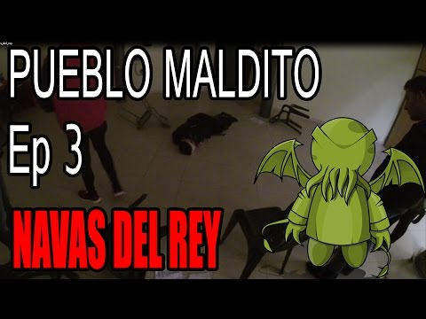 PUEBLO MALDITO   Ep. 3   Navas del Rey (Madrid)   UN SACRIFICIO DE HALLOWEEN!!