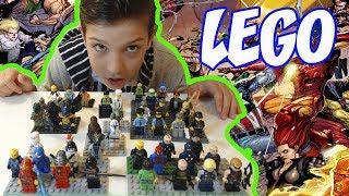 LEGO человечки обзор Marvel Лего Чима Звездные войны Ниндзяго | LEGO