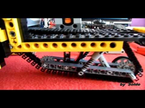 lego technic motosnow motorized by solde youtube. Black Bedroom Furniture Sets. Home Design Ideas