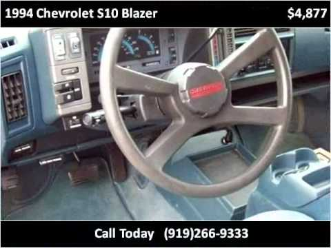 1994 Chevrolet S10 Blazer Used Cars Raleigh Nc Youtube