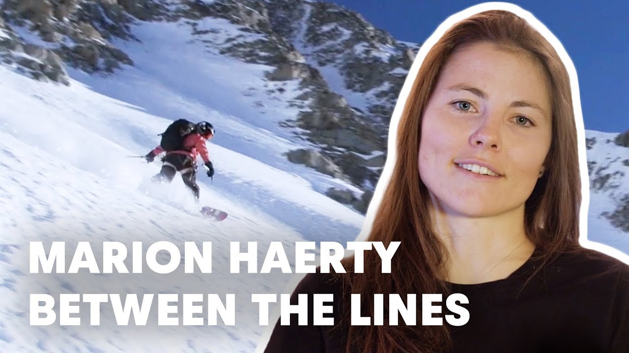 Marion Haerty Wins the Freeride World Tour 2019 Austria | Between The Lines