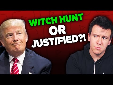 "Thumbnail: People Outraged Over Now-Deleted Video and The Trump ""Witch Hunt"" Rabbit Hole"
