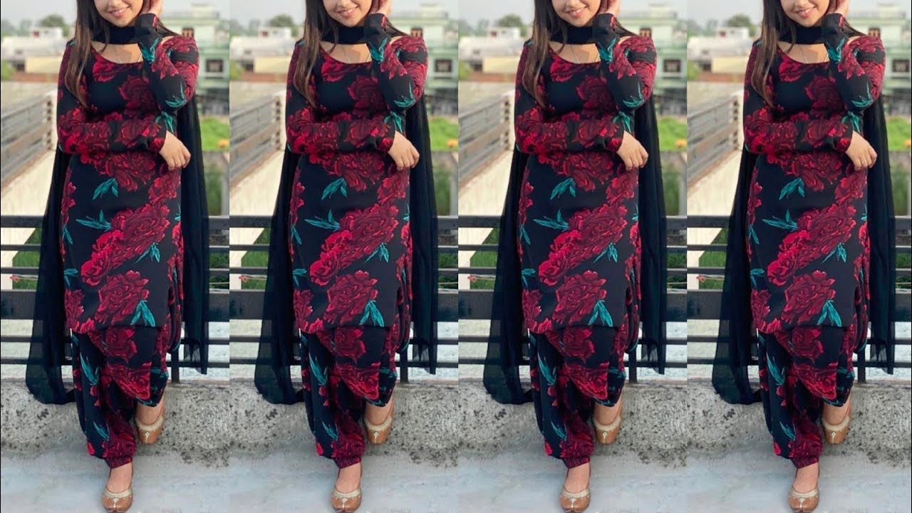 Most Trending 20+ Punjabi suit design | Without Sleeves Punjabi suit | Printed suit | Plain Suit