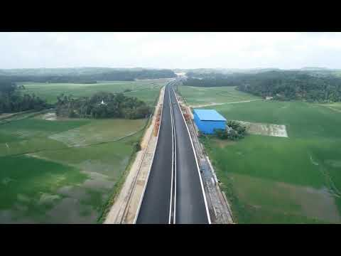 Extension Of Southern Expressway Project Sec-1 Matara To Beliatta Progress At End Of July 2019