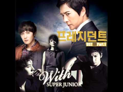 [Audio] Super Junior Kyuhyun, Ryeowook, Sungmin - Biting My Lips 입술을 깨물고 (President OST)