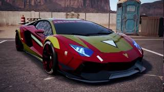 Need for Speed™ Payback iron man wrap new 2018