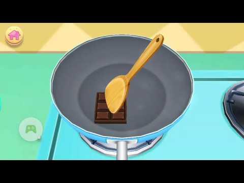 Игра готовить настоящий торт!!!как я играю.