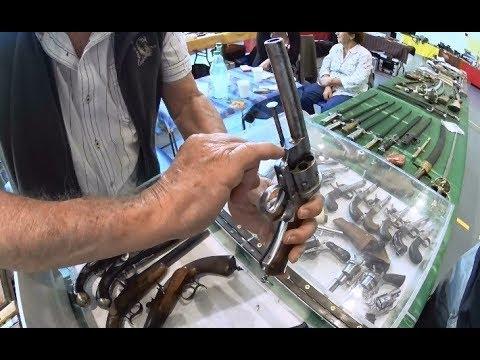Revolver Lefaucheux 11mm black powder exposed for sale.