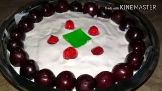 Fruit triffle easy cooking with as