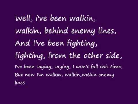 Behind Enemy Lines- Demi Lovato w/ lyrics on screen & download link