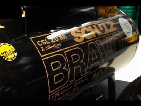 Schulz - Compressor de Ar Alta Pressão CSL20BR/200 BRAVO