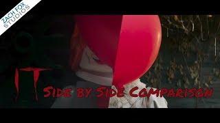 IT Trailer in LEGO Side by Side Comparison