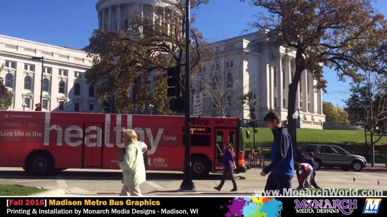 Monarch media designs madison metro bus graphics wraps youtube monarch media designs madison metro bus graphics wraps sciox Gallery