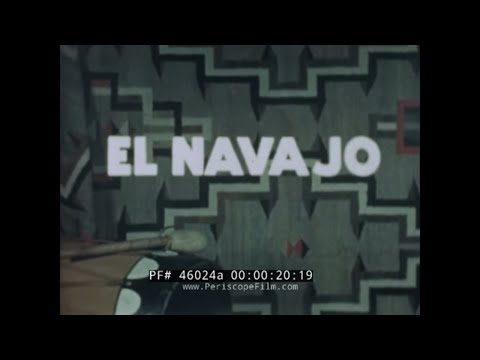 NAVAJO RESERVATION DOCUMENTARY  NEW MEXICO / ARIZONA  SANTA FE RR 46024a