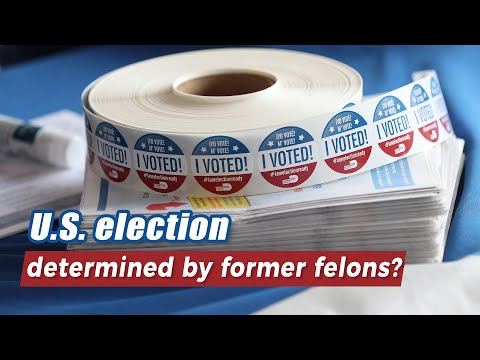 U.S. Election Determined By Former Felons?