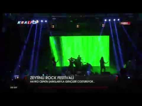 Hayko Cepkin   Açtırdınız Kutuyu   Zeytinli Rock Festivali 2015   YouTube