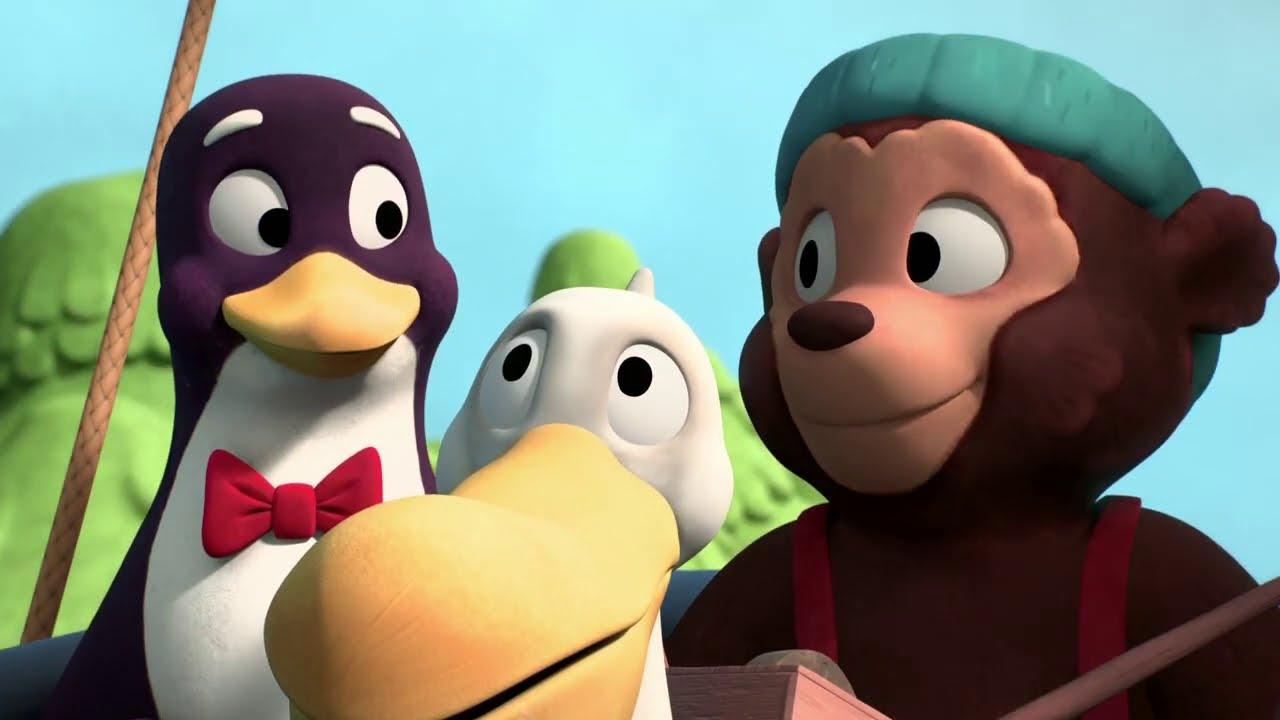 Приключения медвежонка Расмуса — Говорящий остров — Новые мультфильмы для детей