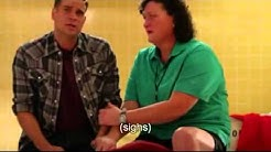 Glee - Coach Beiste and Puck scenes - The Quarterback
