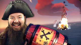 BLASTED OFF COURSE! 💀 Sea of Thieves Highlights #25