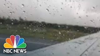 Aeroméxico Passenger Captures Crash And Aftermath | NBC News