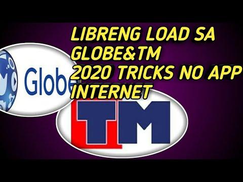 LIBRENG LOAD SA GLOBE/TM NEW TRICKS NO APP 2020