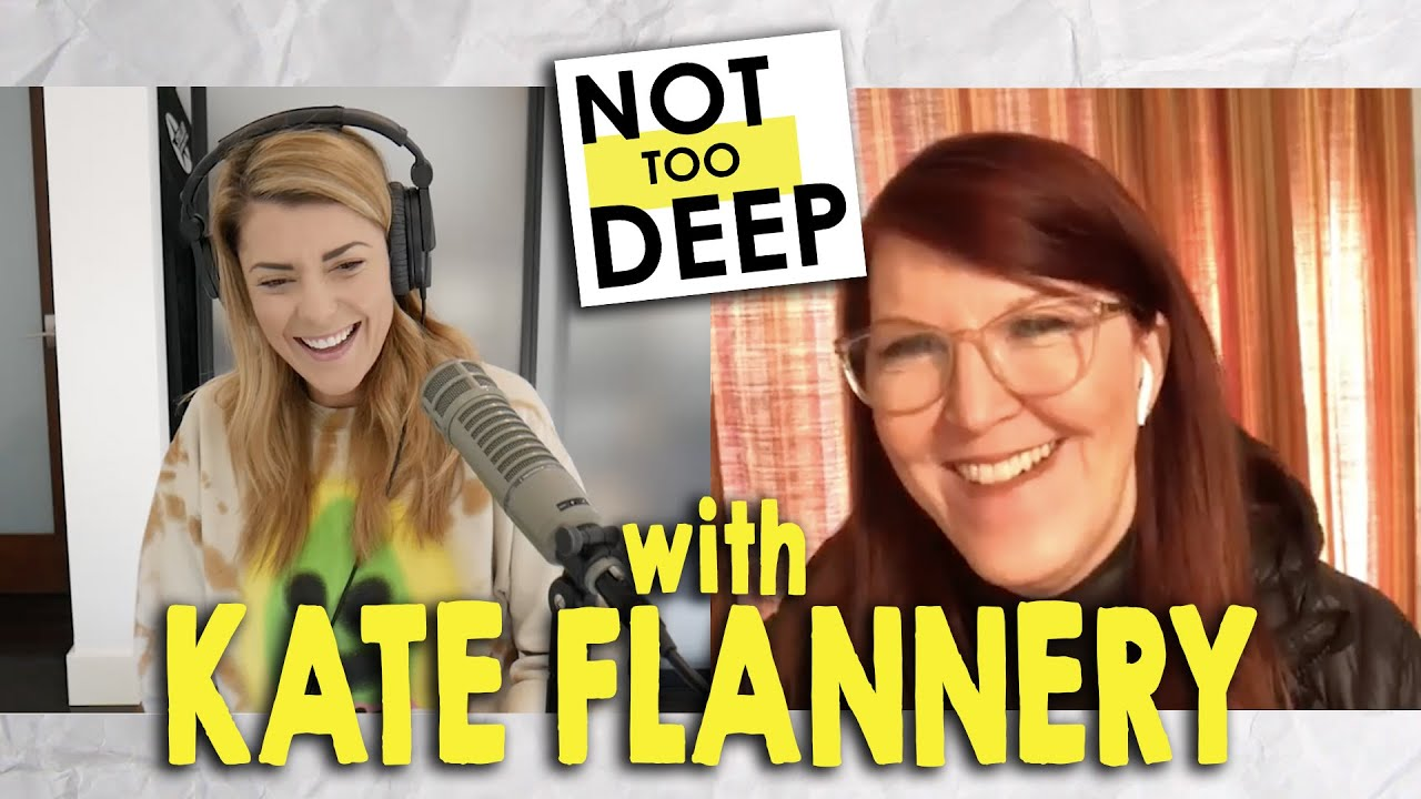 KATE FLANNERY on #NotTooDeep // Grace Helbig