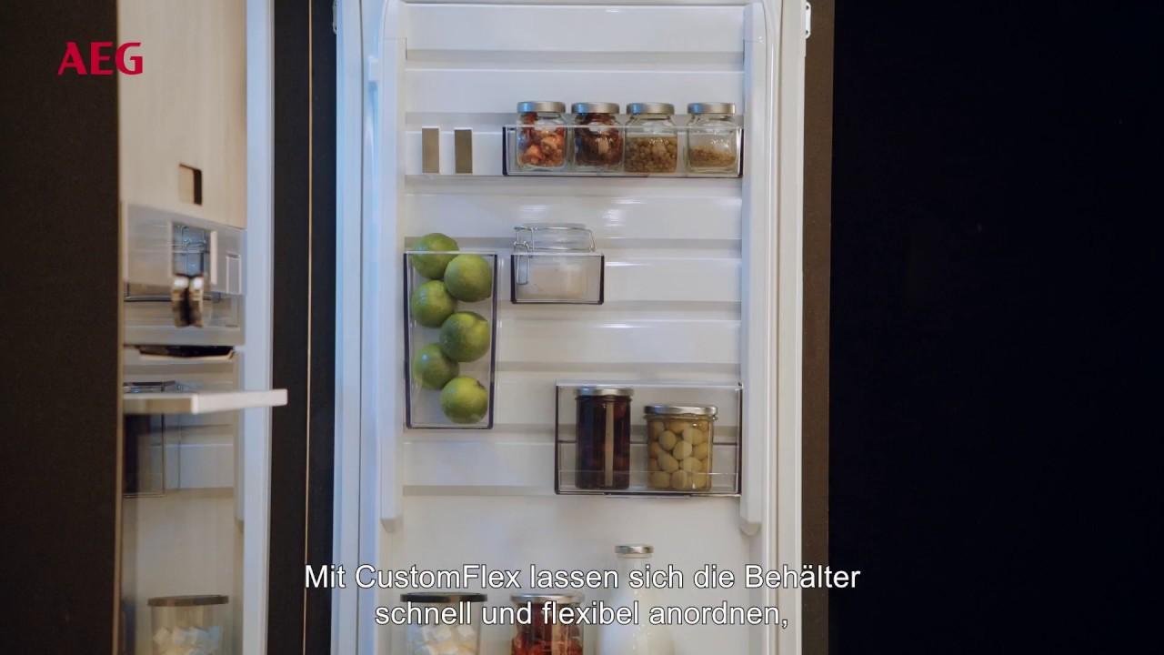 Aeg Kühlschrank A : Mehr platz im kühlschrank mit customflex aeg mastery range youtube