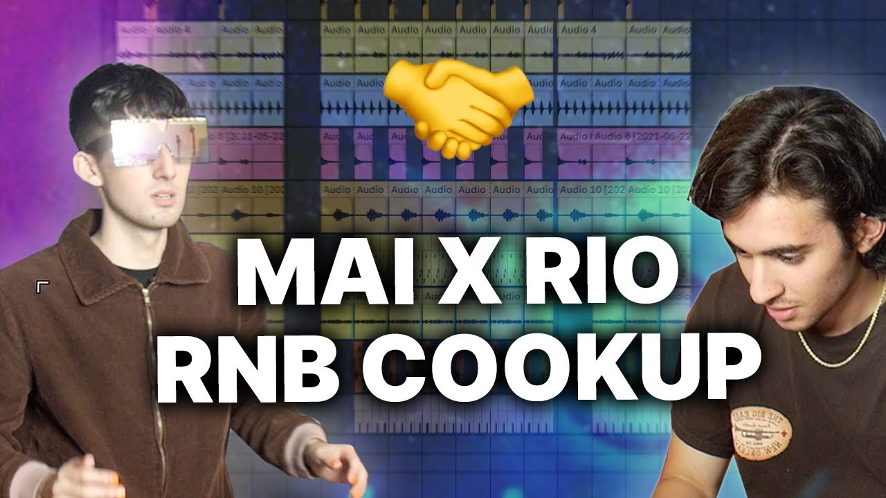 Download MAI AND RIO LEYVA COOK UP A RNB BEAT FROM THE FUTURE