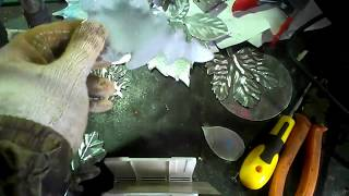 Дубовый листок из металла своими руками