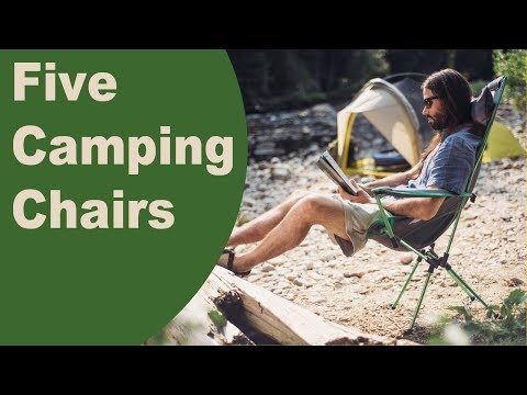 Thumbnail: When camping it is nice to have a camp chair!
