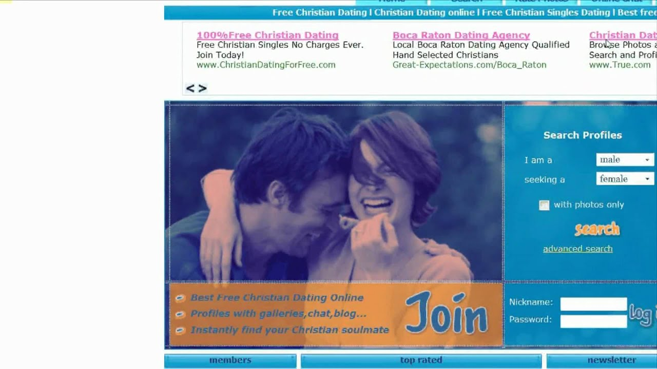Free dating site christian