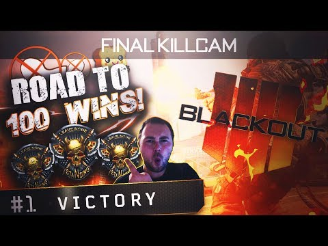 BO4 BLACKOUT ROAD TO 400 WINS- Call of Duty Black OPs 4 Blackout Live Stream - COD BO4 Deutsch PS4 thumbnail