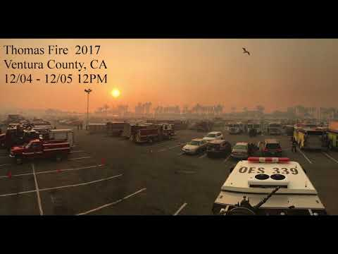 Thomas Fire 2017 - Ventura County Fire Radio - First 18hrs