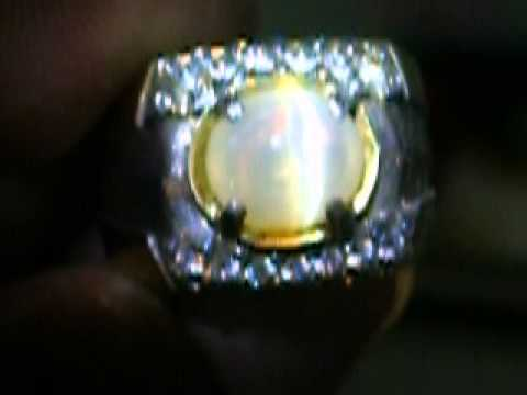 NATURAL CAT EYE OPAL ( CO-165 )