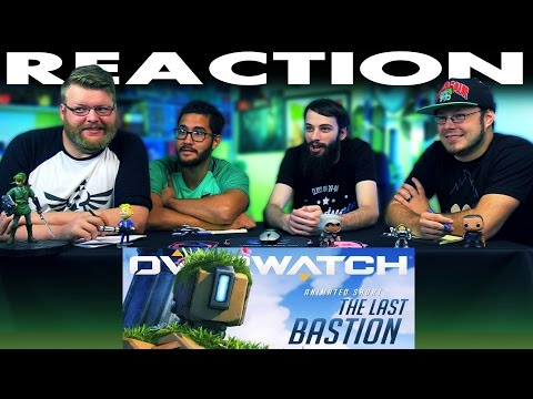 """Overwatch Animated Short """"The Last Bastion"""" REACTION!!"""