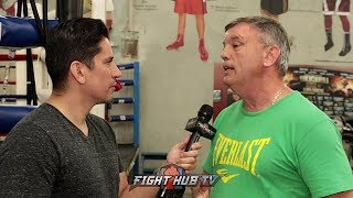 """TEDDY ATLAS """"CANELO BEATS GGG IN A 3RD FIGHT! GOLOVKIN GETTING OLDER BY THE MINUTE!"""""""