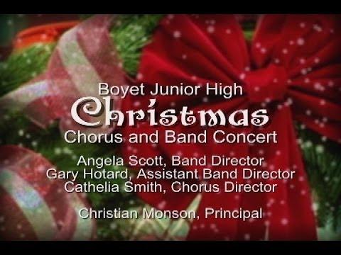 Boyet Junior High School- Christmas Chorus and Band Concert