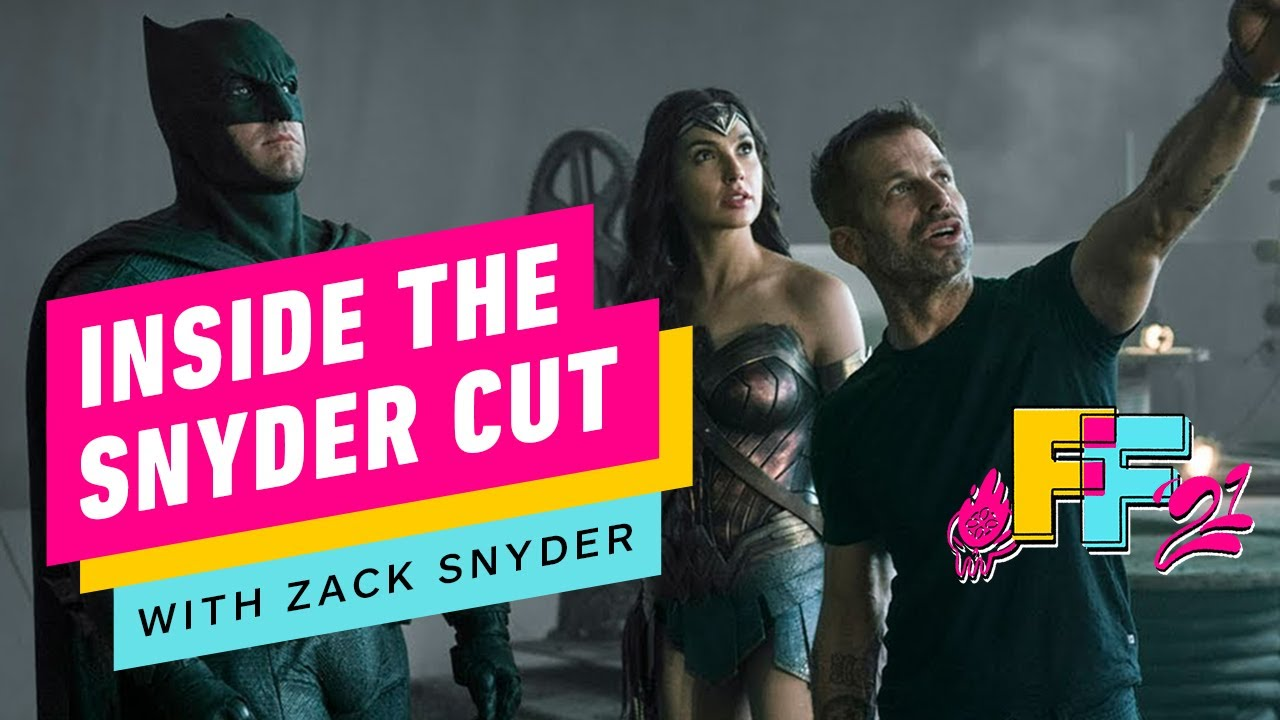 Justice League - Inside the Snyder Cut with Zack Snyder | IGN Fan Fest 2021