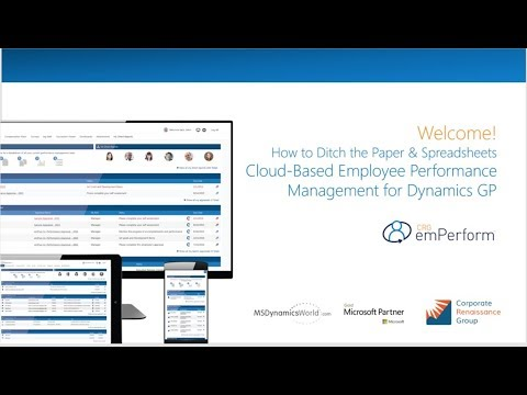 How to Ditch the Paper & Spreadsheets – Cloud-Based Employee Performance Management for Dynamics GP