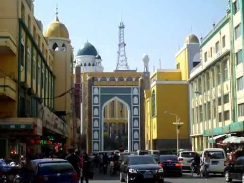 Hohhot Muslim Bazaar Inner Mongolia Youtube