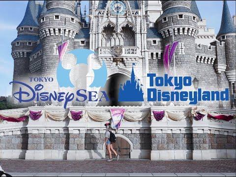 Tokyo Disneyland and Disney Sea, Japan vlog