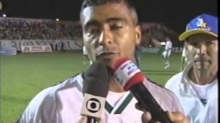 Gama 1x2 Fluminense - Campeonato Brasileiro 2002